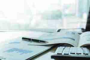 Calculator and financial charts
