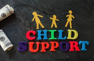 Child support blocks