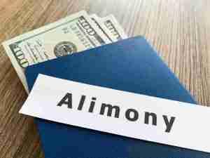 Alimony envelope